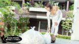 朝ゴミ出しする近所の遊び好きノーブラ奥さん ASUKA
